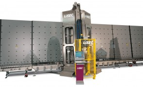 Automatic Glass Arris and Wash Line